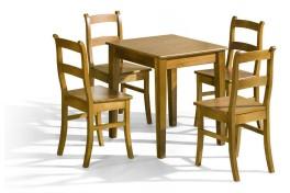 Jídelní stůl BRUNO + 4 ks...